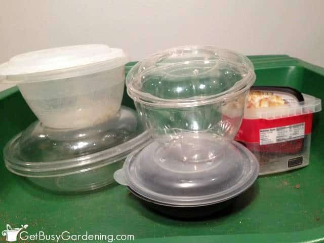 Winter Sowing Containers