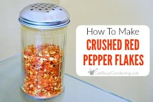 How To Make Crushed Red Pepper Flakes