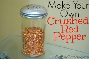 crushed red pepper make your own crushed pepper 30480