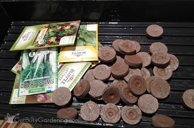 Jiffy seed starter kit pellet refills