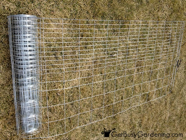 Measure And Cut The Fencing