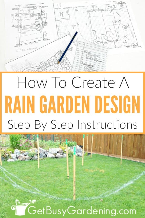 How To Create A Rain Garden Design: Step-By-Step Instructions