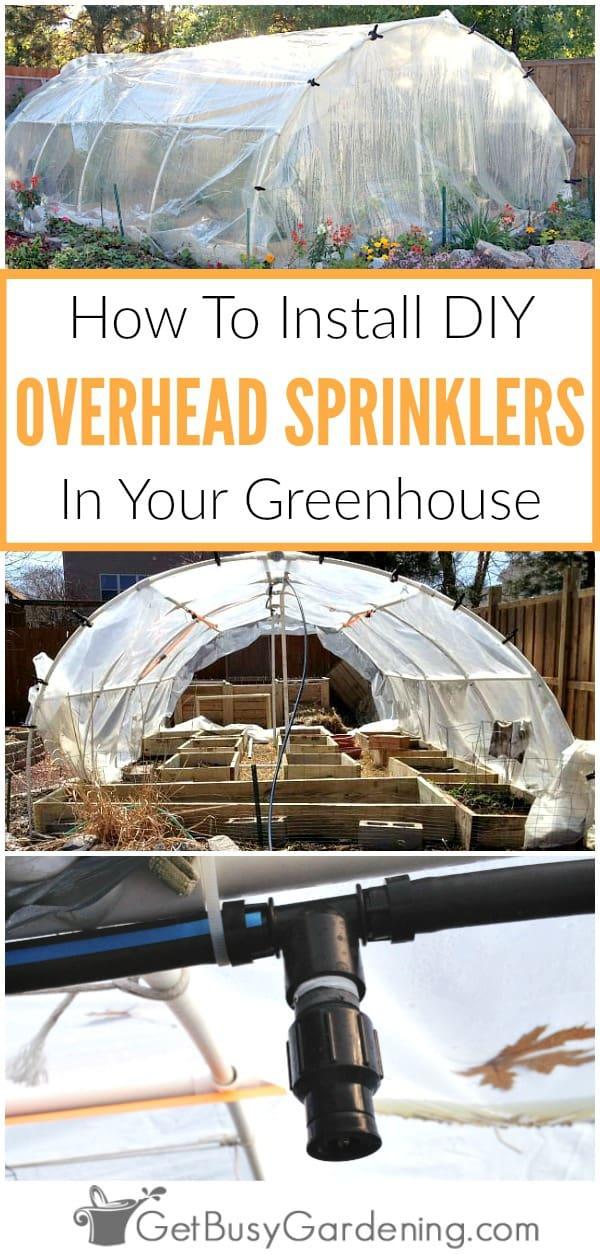 Greenhouse Irrigation Systems Diy Overhead Sprinkler