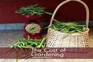 The Cost Of Gardening