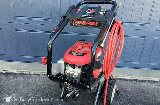 Troy-Bilt 3000 PSI Pressure Washer