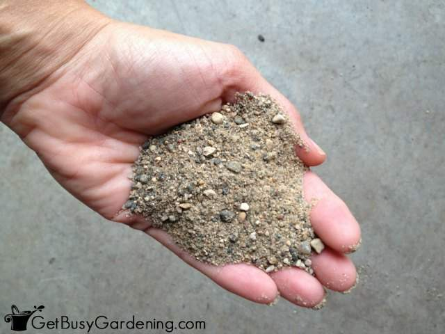Sand Ingredient In DIY Succulent Potting Soil