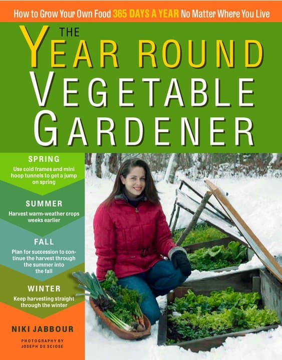 The Year Round Vegetable Gardener Book Review