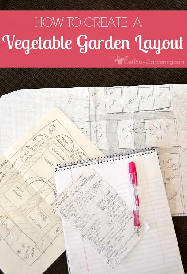 Planning the vegetable garden takes the stress out of planting, harvesting and maintenance. Here are tips for creating a backyard vegetable garden design.