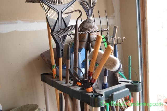 Rack For Garden Tools