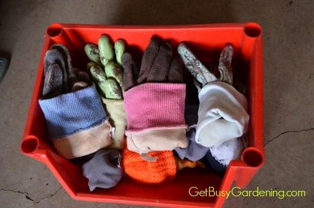 Roll Up Gloves Like Socks