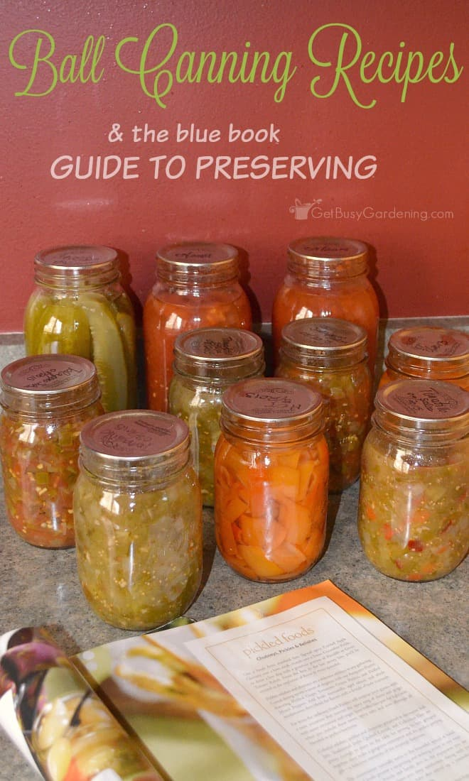 Ball canning recipes the book of canning and preserving the blue book guide to preserving is full of ball canning recipes an excellent book forumfinder Choice Image