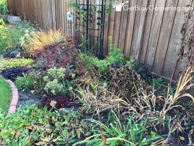 Fall Garden Cleanup Can Be Stressful