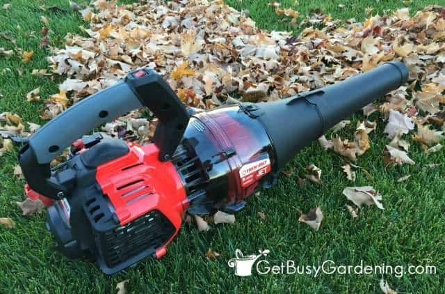 Troy-Bilt Jet Blower Assembled