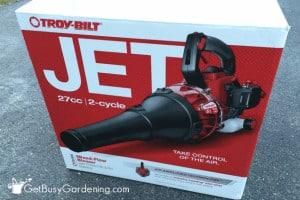 Troy-Bilt Jet Leaf Blower