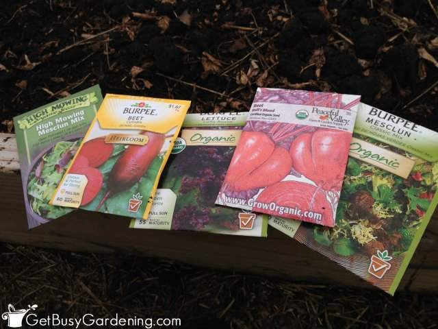 Seeds For Direct Sowing
