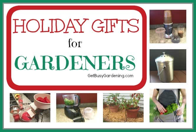 2016 Holiday Gift Ideas For Gardeners