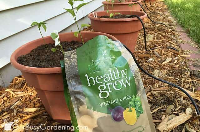 Healthy Grow organic vegetable fertilizer
