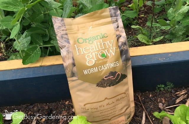 Healthy Grow organic worm fertilizer