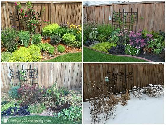 4 season perennial garden