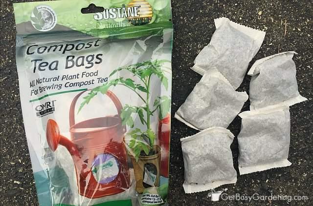 Suståne compost tea bags