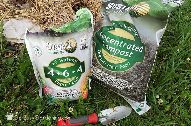 Sustane natural fertilizer