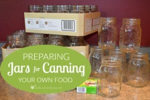 Preparing Jars For Canning Your Own Food (in 8 easy steps)