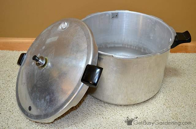 Canning pressure canner