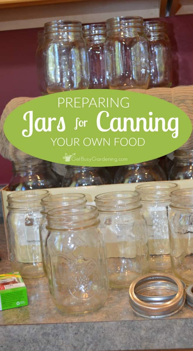 Preparing jars for canning is an important first step, but it's not hard so don't be intimidated. Here's how to do it in 8 easy steps (with pictures).