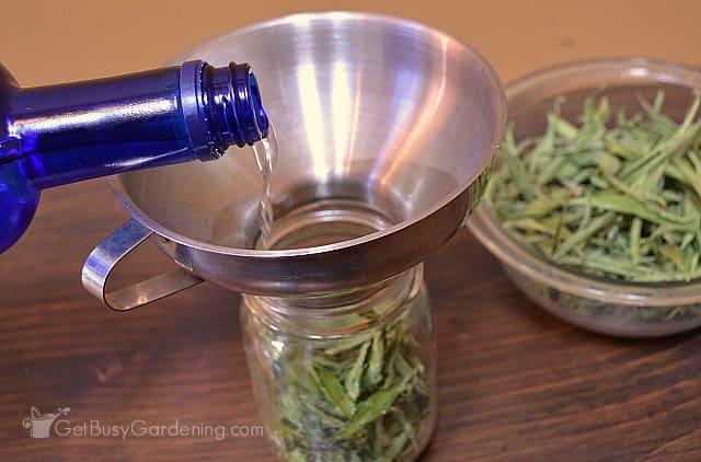 Using vodka to make liquid stevia extract