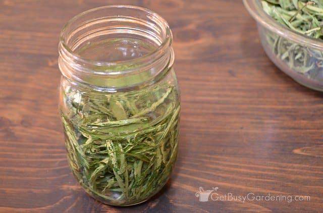 Vodka should cover leaves stevia liquid extract