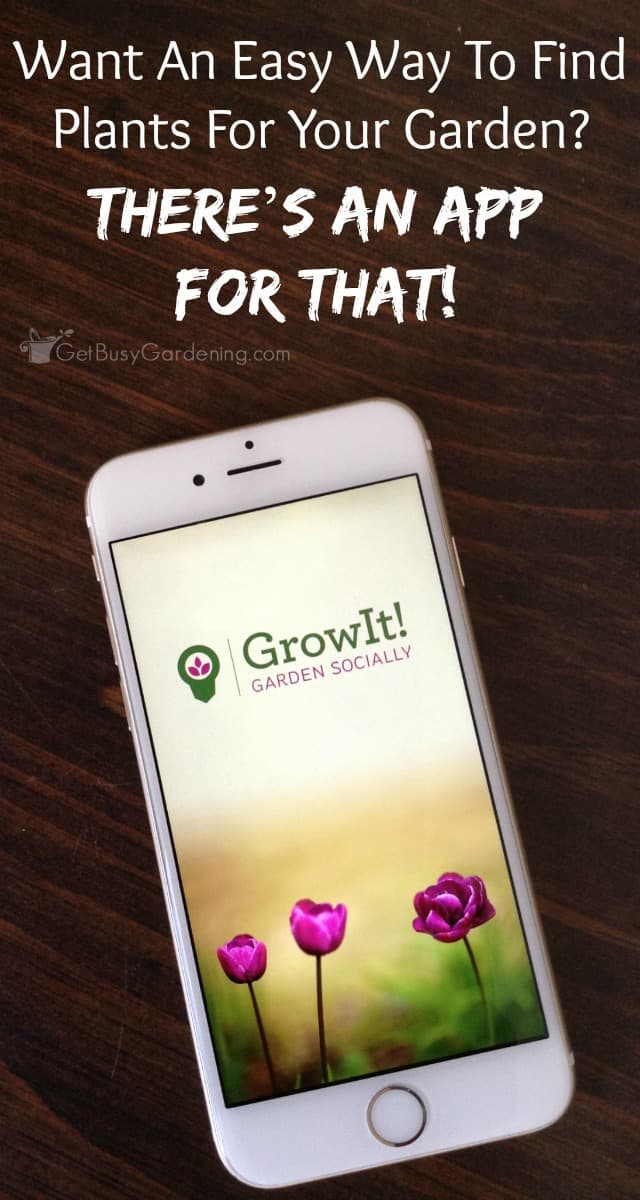 GrowIt! is a social gardening app that makes it easy to choose plants that will thrive in your home or garden, even if you're totally clueless about plants! (AD)