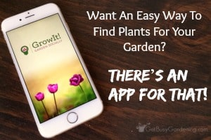 Want An Easy Way To Find Plants For Your Garden? There's An App For That!