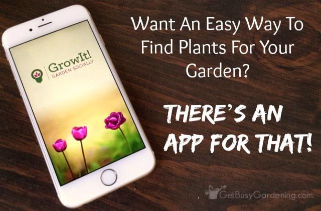 GrowIt! gardening app