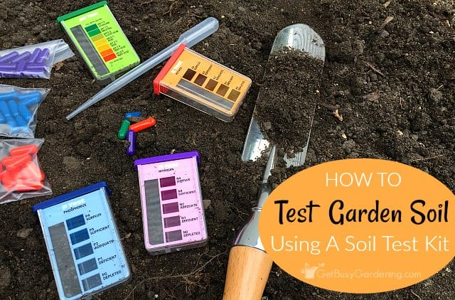 garden soil testing how to test your soil at home using a. Black Bedroom Furniture Sets. Home Design Ideas