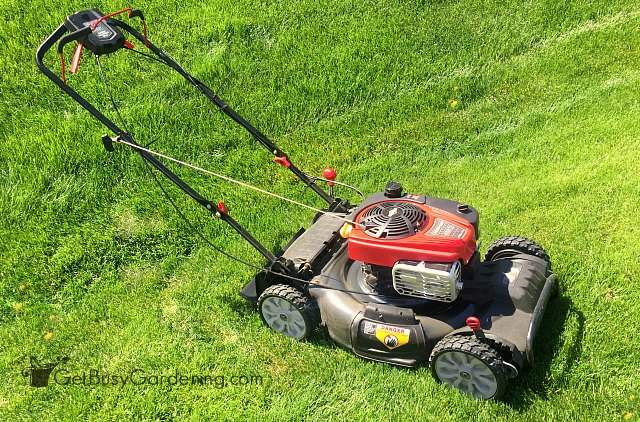 Troy-Bilt 4x4 push mower