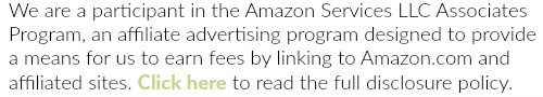 We are a participant in the Amazon Services LLC Associates Program, an affiliate advertising program designed to provide a means for sites to earn advertising fees by advertising and linking to Amazon.com and affiliated sites. Click here to read our full disclosure policy.