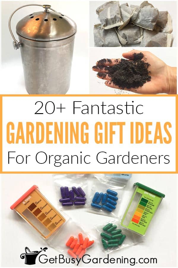 20+ Fantastic Gardening Gift Ideas For Organic Gardeners
