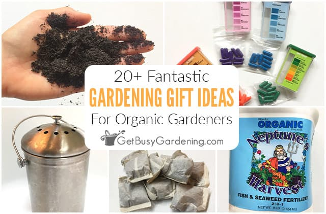 20+ Fantastic Gifts For Organic Gardeners