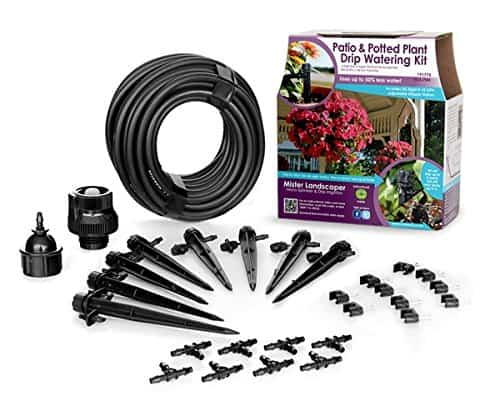 Drip water irrigation kit