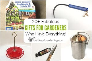 20+ Fabulous Gifts For The Gardener Who Has Everything