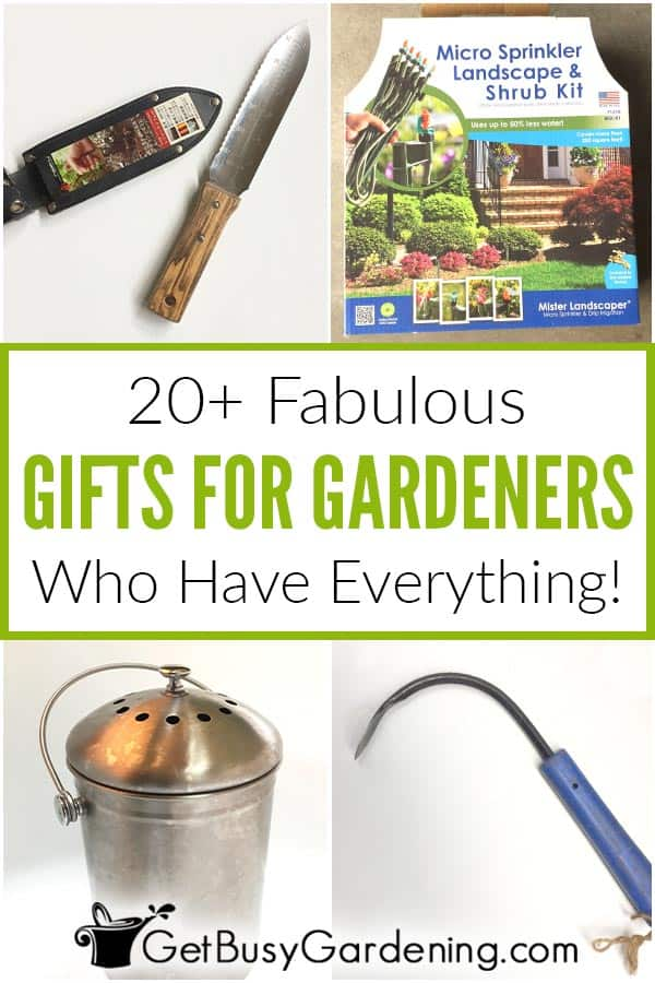 20+ Fabulous Gifts For Gardeners Who Have Everything