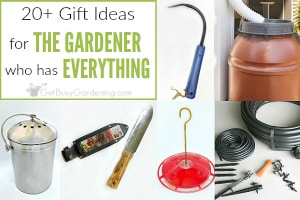 Fabulous Gifts For The Gardener Who Has Everything