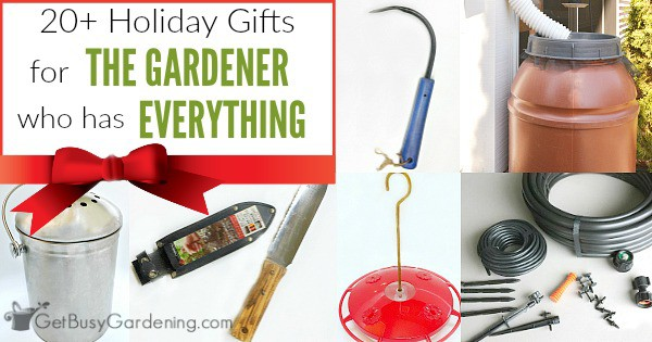 Amazing 20+ Fabulous Gifts For The Gardener Who Has Everything   Get Busy Gardening