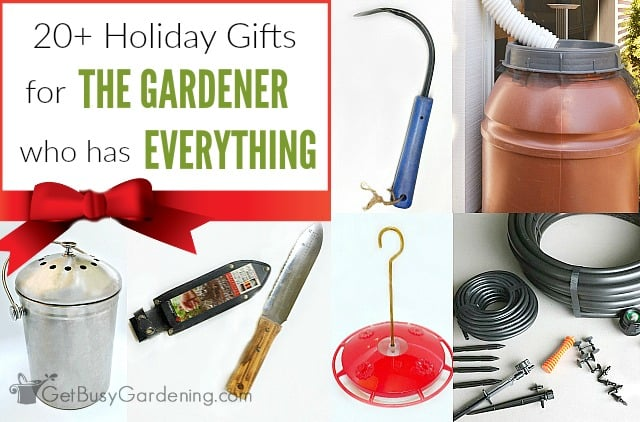 20+ Fabulous Holiday Gifts For The Gardener Who Has Everything