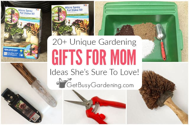 20+ Unique Gardening Gifts For Mom