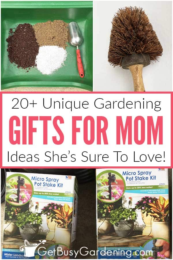 20+ Unique Gardening Gifts For Mom: Ideas She's Sure To Love!