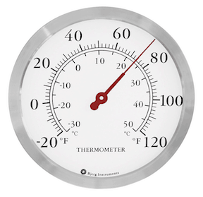 Large Wall Thermometer