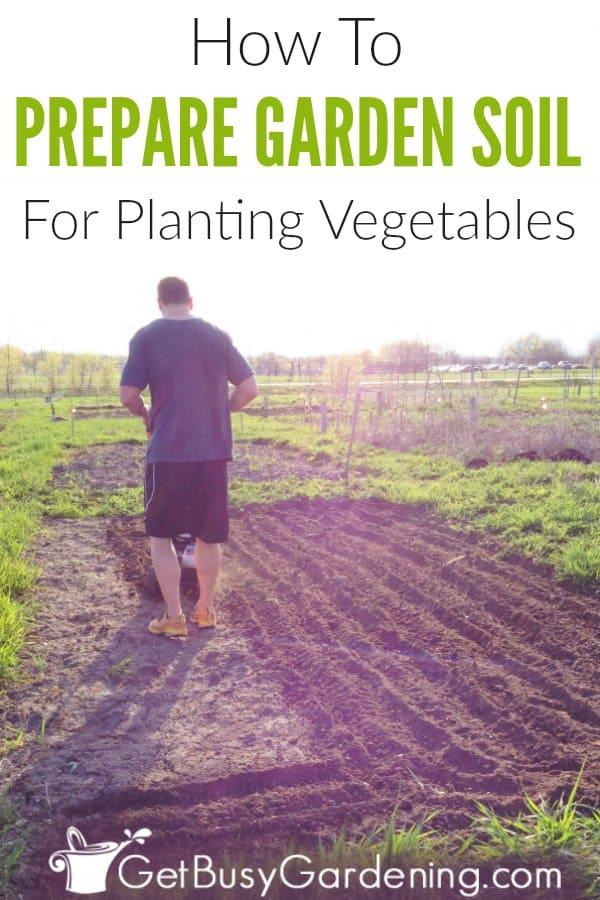 How To Prepare Garden Soil For Planting Vegetables