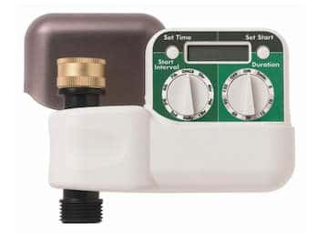 Digital timer for hose