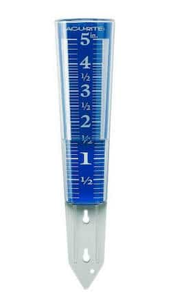 Rain meter gauge